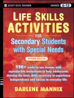 Life Skills Activities for Secondary Students with Special Needs
