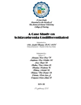 undifferentiated schizophrenia case study scribd Schizophrenia case study residual or undifferentiated schizophrenia this is a more rare case of schizophrenia that can difficult to diagnose.