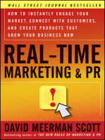 Real-Time Marketing and PR.
