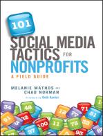 101 Social Media Tactics for Nonprofits: A Field Guide