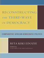Reconstructing the Third Wave of Democracy: Comparative African Democratic Politics