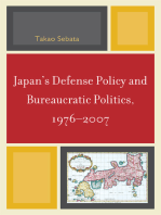 Japan's Defense Policy and Bureaucratic Politics, 1976-2007