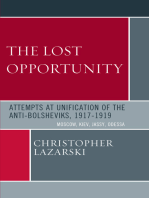 The Lost Opportunity