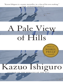 Read A Pale View Of Hills By Kazuo Ishiguro